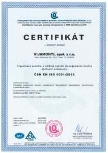 ISO Certifikát-2020